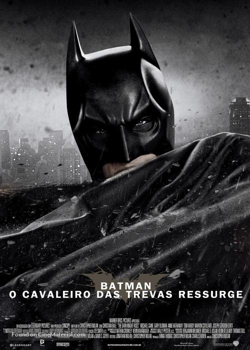 The Dark Knight Rises - Brazilian Movie Poster