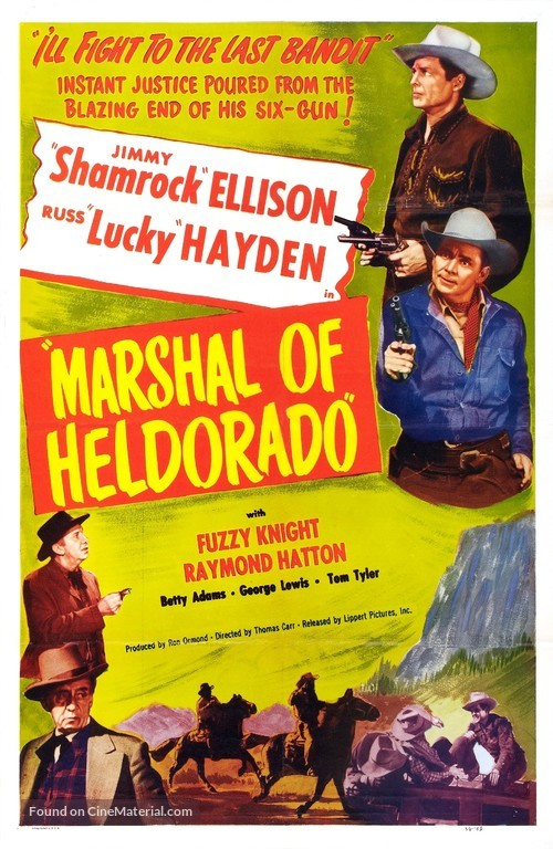 Marshal of Heldorado - Movie Poster