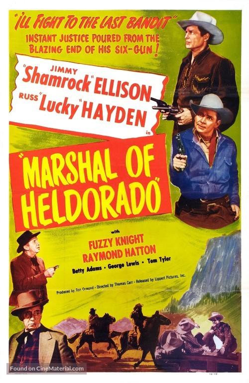 Marshal of Heldorado - Movie Poster