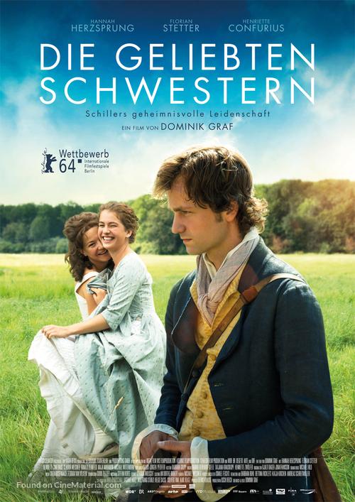 Die geliebten Schwestern - German Movie Poster