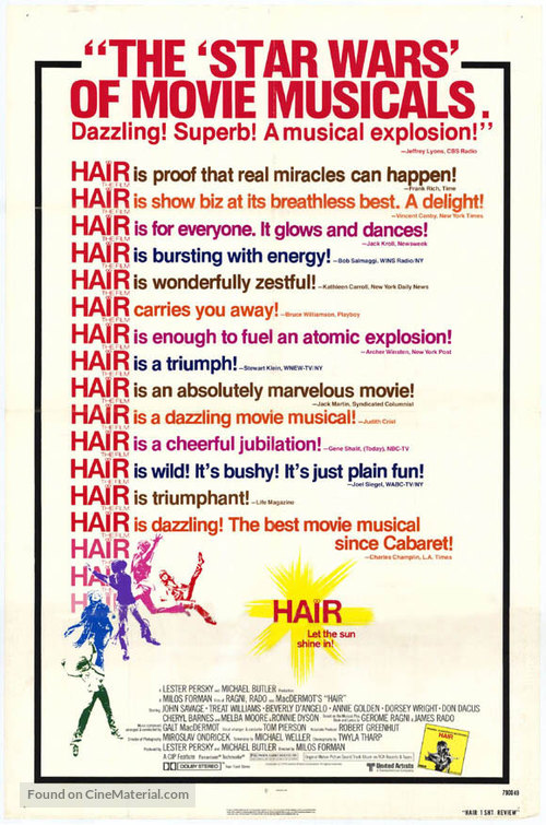 Hair - Theatrical poster