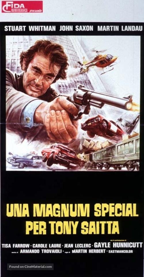 A Special Magnum for Tony Saitta - Italian Movie Poster