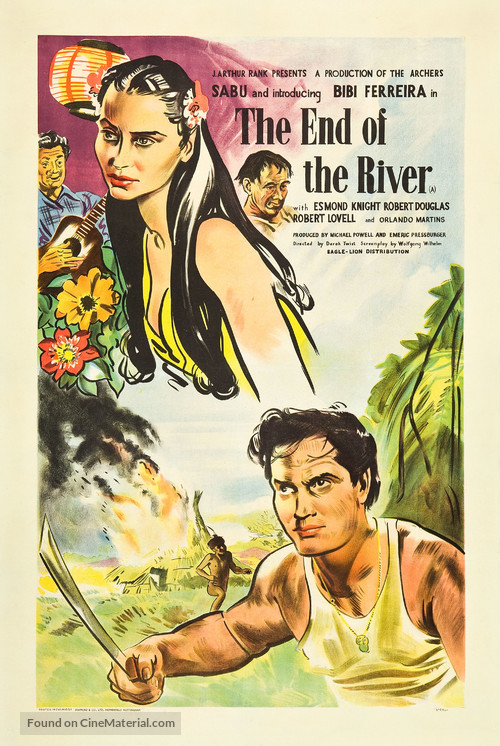 The End of the River - British Movie Poster