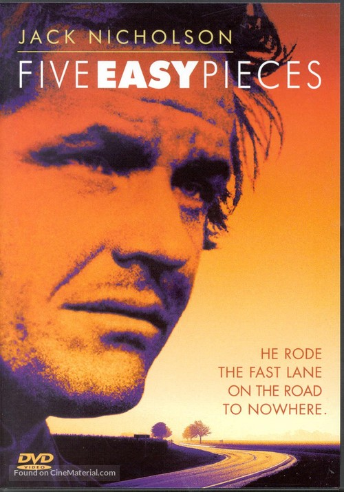 Five Easy Pieces - DVD movie cover