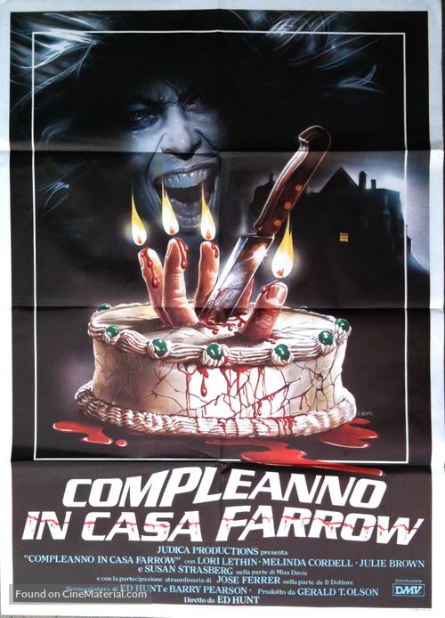 Bloody Birthday - Italian Movie Poster