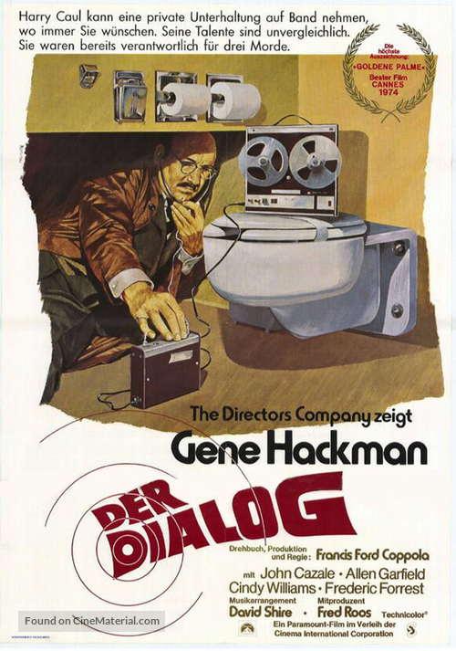 The Conversation - German Movie Poster