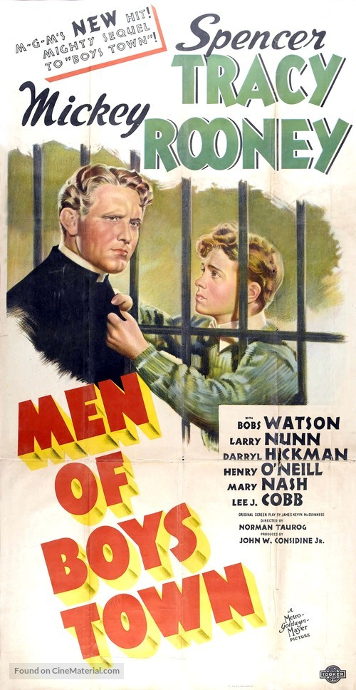 Men of Boys Town - Movie Poster