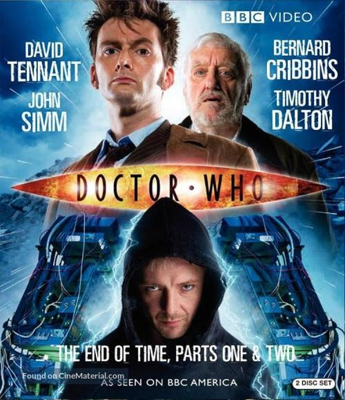 """""""Doctor Who"""" - Blu-Ray movie cover"""