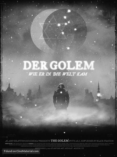 Der Golem, wie er in die Welt kam - poster