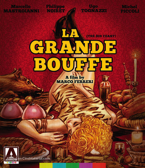 La grande bouffe - Blu-Ray movie cover