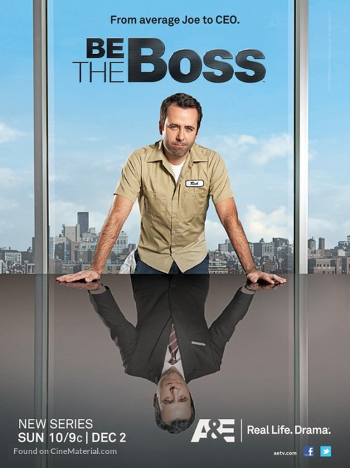 """""""Be the Boss"""" - Movie Poster"""