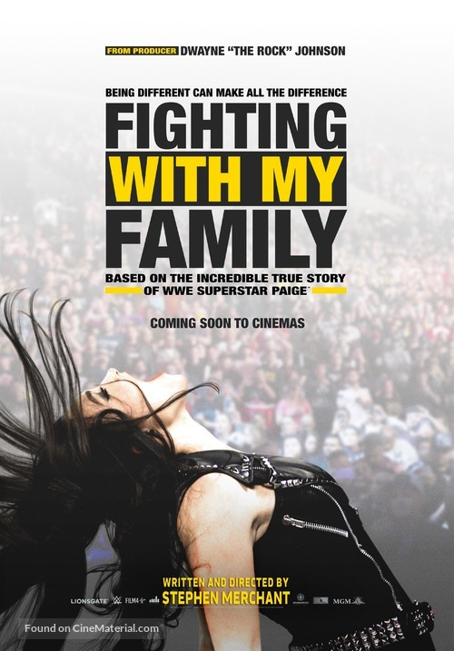 Fighting with My Family - British Movie Poster