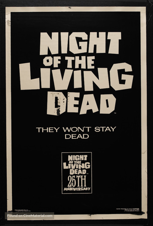 Night of the Living Dead - Movie Poster