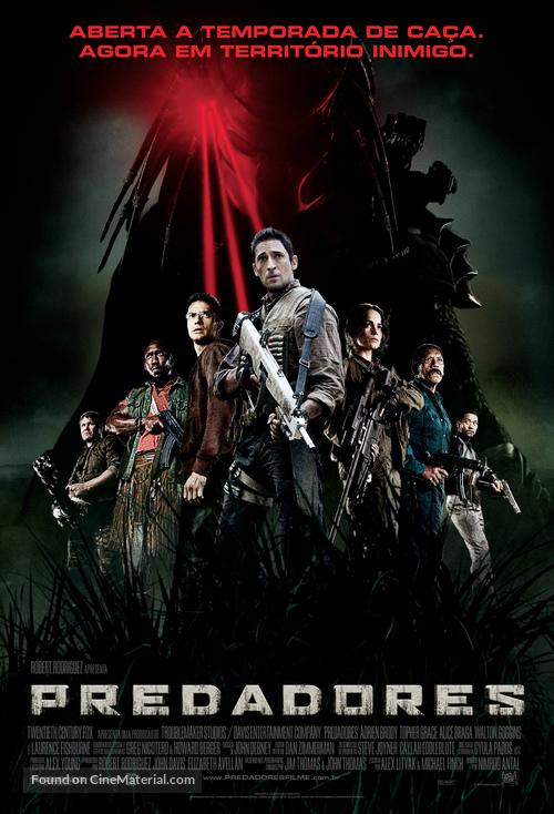 Predators - Brazilian Movie Poster