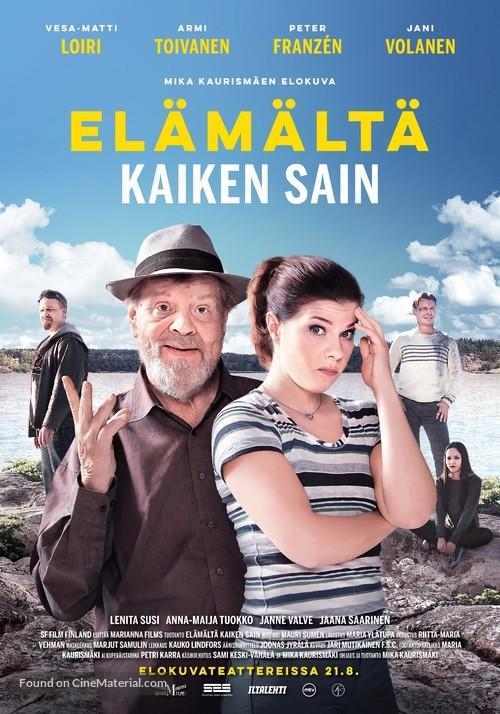 Elämältä kaiken sain - Finnish Movie Poster