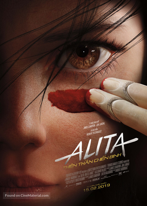 Alita: Battle Angel - Vietnamese Movie Poster