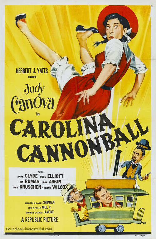 Carolina Cannonball - Movie Poster