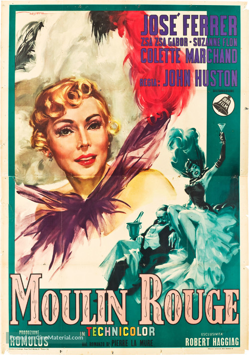 Moulin Rouge - Italian Movie Poster