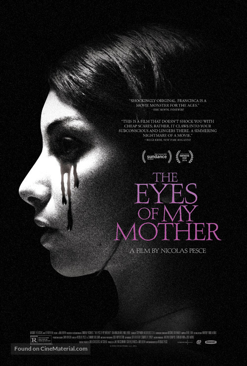 The Eyes of My Mother - Movie Poster