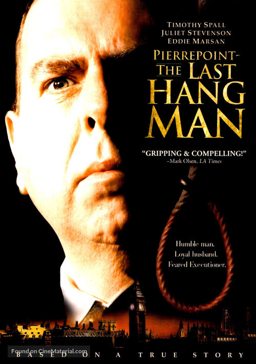 The Last Hangman - DVD cover