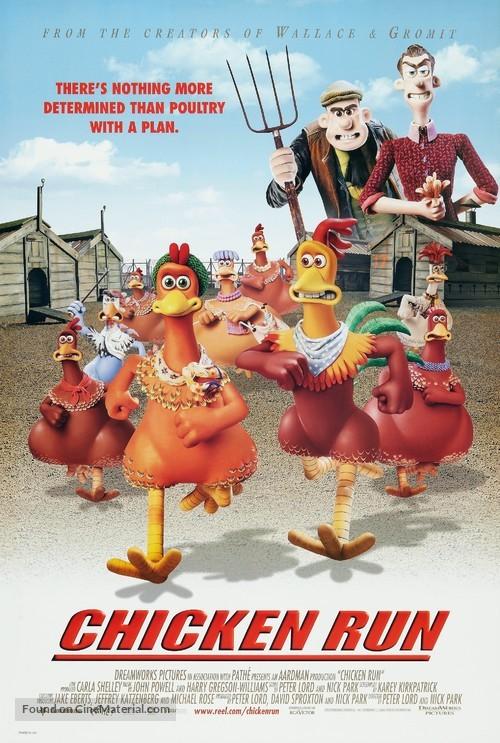 Chicken Run - Movie Poster