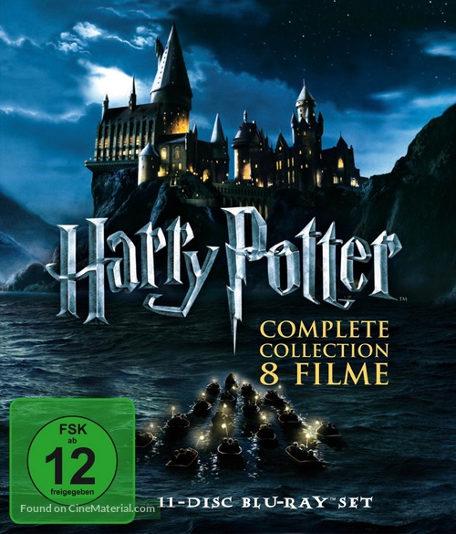 Harry Potter and the Chamber of Secrets - German Blu-Ray cover