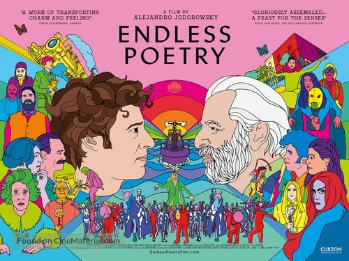 Poesía Sin Fin - British Movie Poster