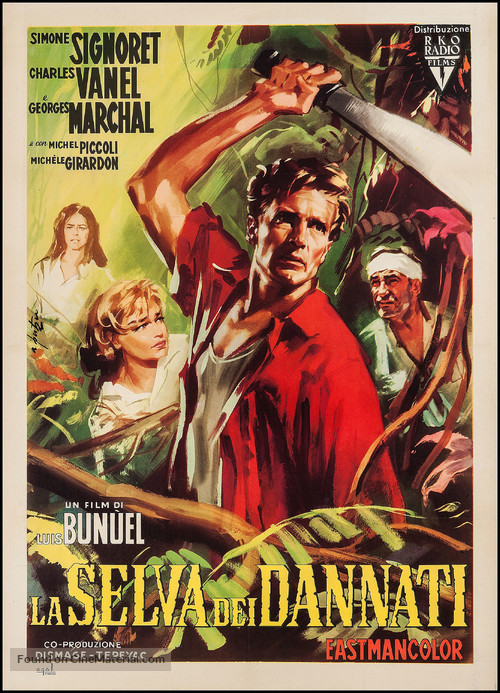 La mort en ce jardin - Italian Movie Poster