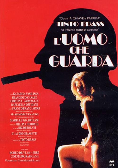 L'uomo che guarda - Italian Movie Poster