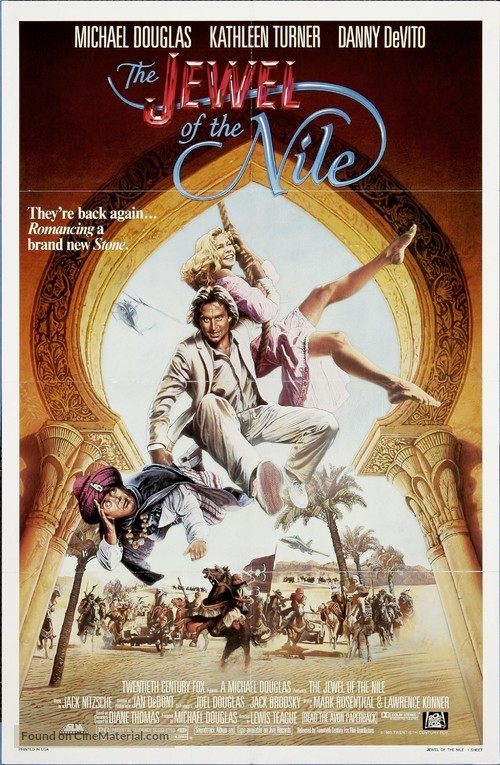 The Jewel of the Nile - Movie Poster