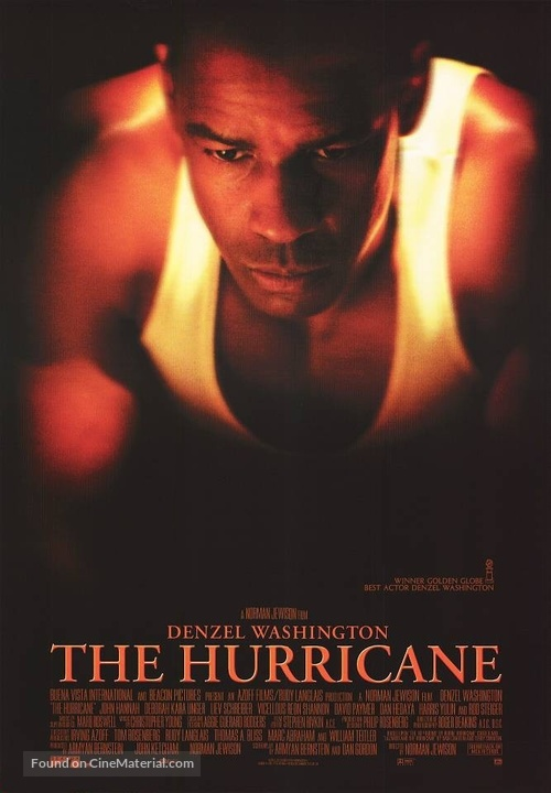 The Hurricane - Movie Poster
