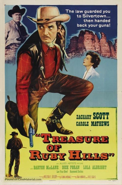 Treasure of Ruby Hills - Movie Poster
