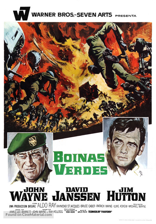 The Green Berets - Spanish Movie Poster