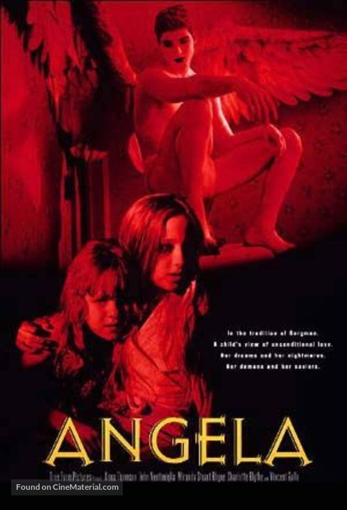 Angela - DVD cover
