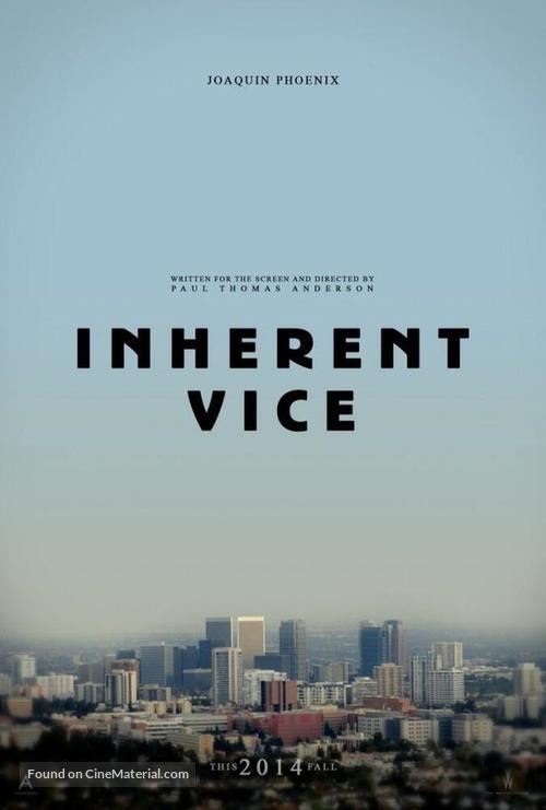 Inherent Vice - Movie Poster