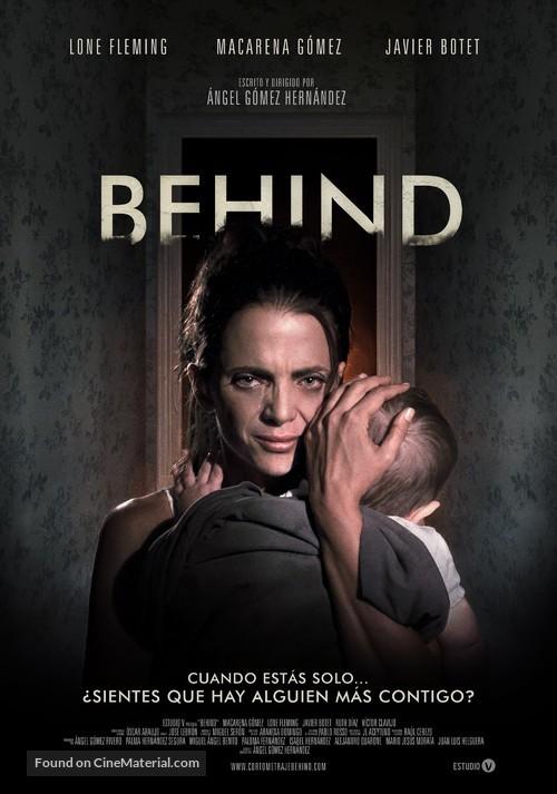 Behind - Spanish Movie Poster