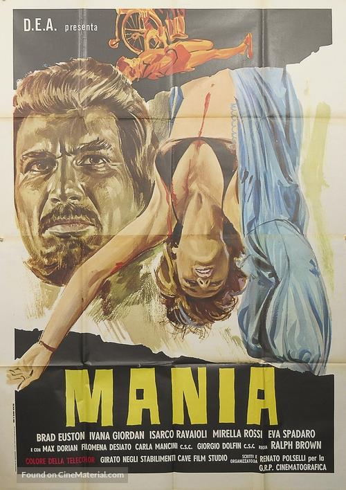Mania - Italian Movie Poster