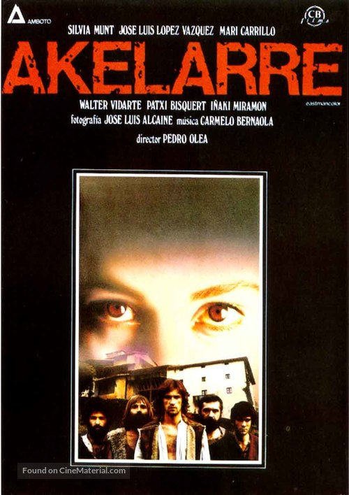 Akelarre - Spanish Movie Poster