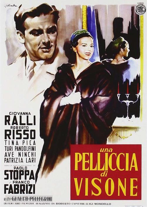 Pelliccia di visone, Una - Italian Movie Poster