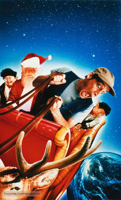 Ernest Christmas.Ernest Saves Christmas 1988 Key Art