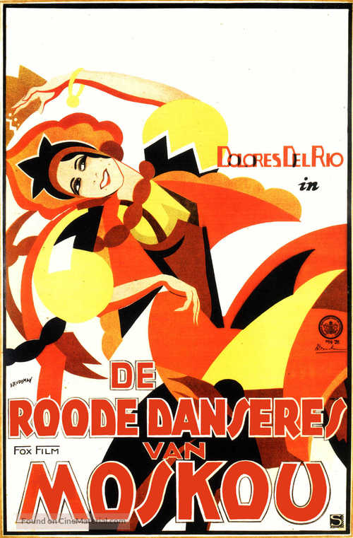 The Red Dance - Dutch Movie Poster