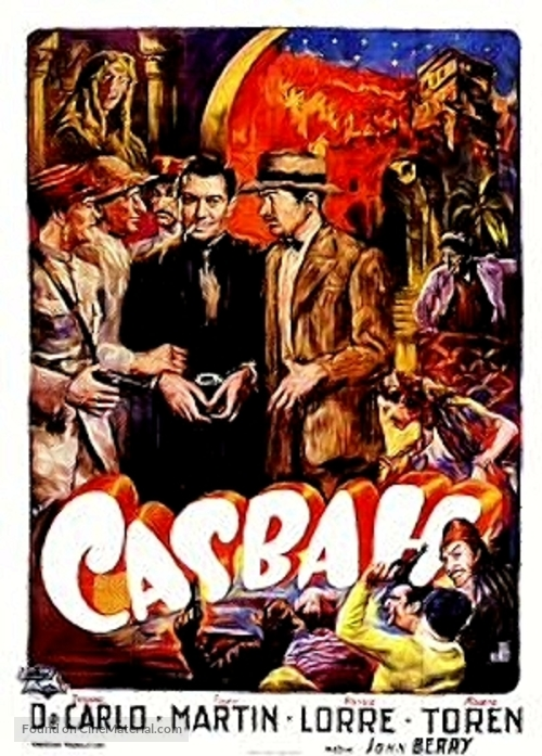 Casbah - French Movie Poster