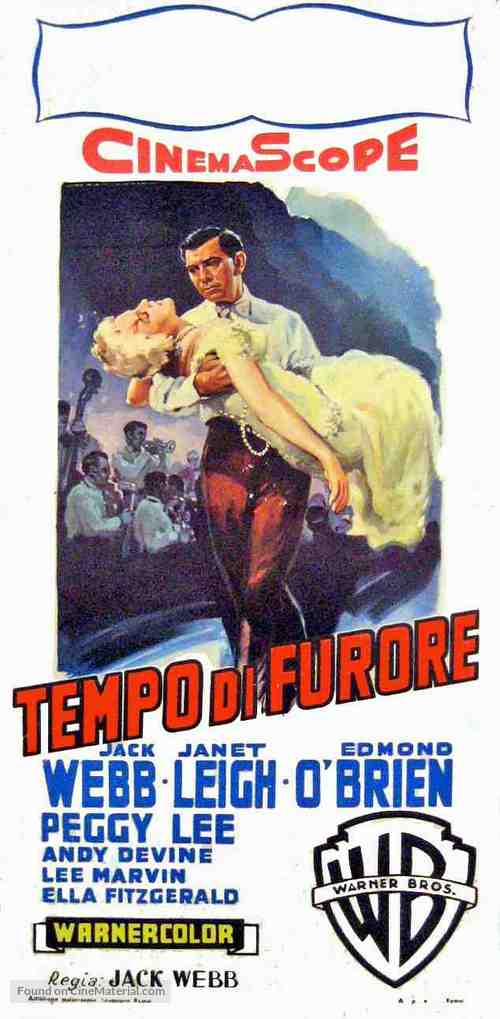 Pete Kelly's Blues - Italian Movie Poster