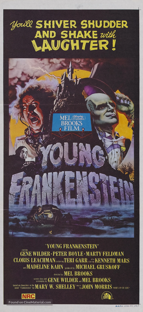 Young Frankenstein - Australian Movie Poster