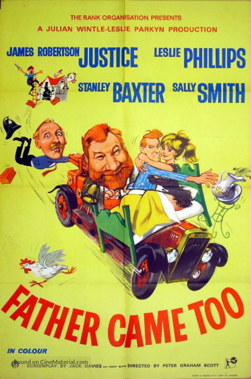 Father Came Too! - British Movie Poster
