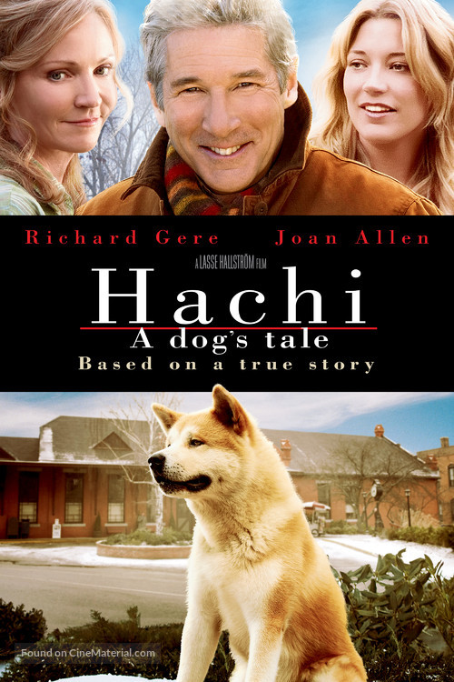 Hachiko: A Dog's Story - Movie Cover