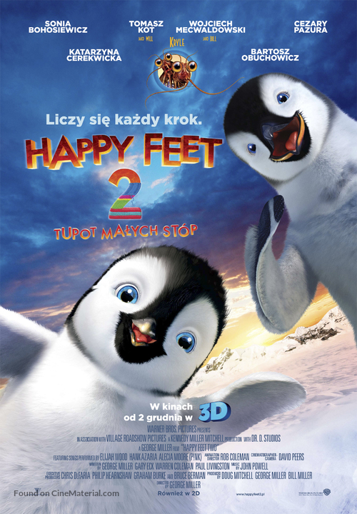Happy Feet Two - Polish Movie Poster