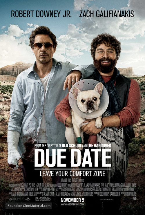 Due Date - Movie Poster
