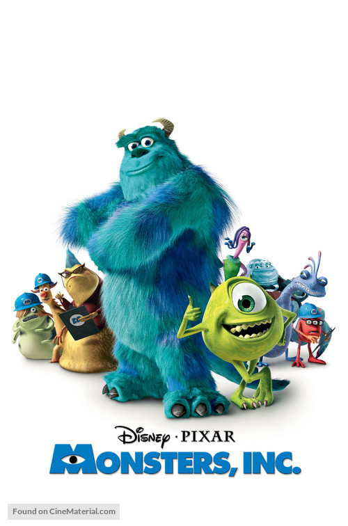Monsters Inc - Movie Poster