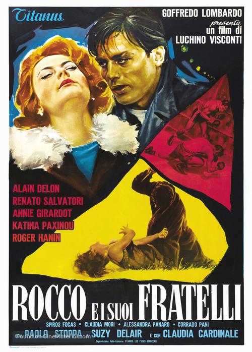 Rocco e i suoi fratelli - Italian Movie Poster